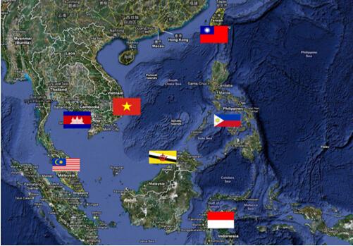 自我南海填礁造岛