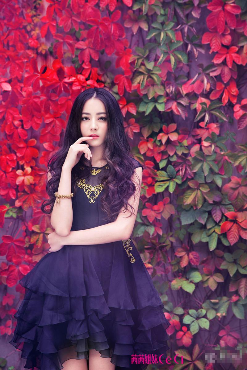 张予曦杨紫关晓彤迪丽热巴 十大90后最美女星